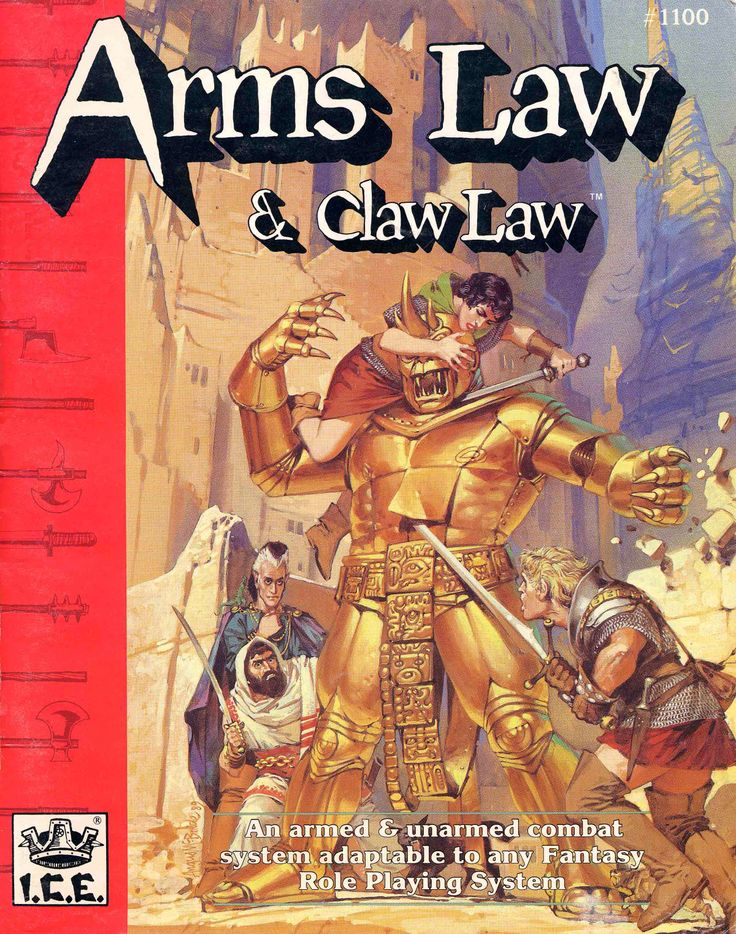 Rolemaster - Arms Law
