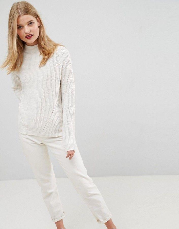 7b17e3e570040d Loving this ASOS Ultimate Chunky Sweater With Slouchy High Neck & it's only  $40! #asos #sweaters #fallstyle #shopstyle #affiliate
