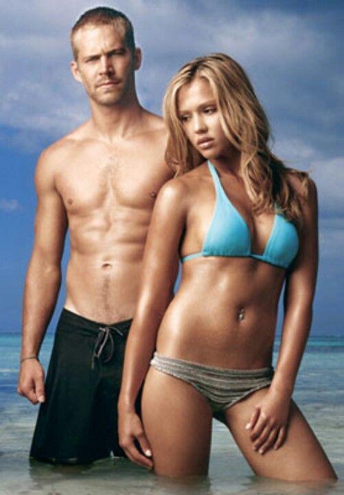 Paul walker & Jessica Alba