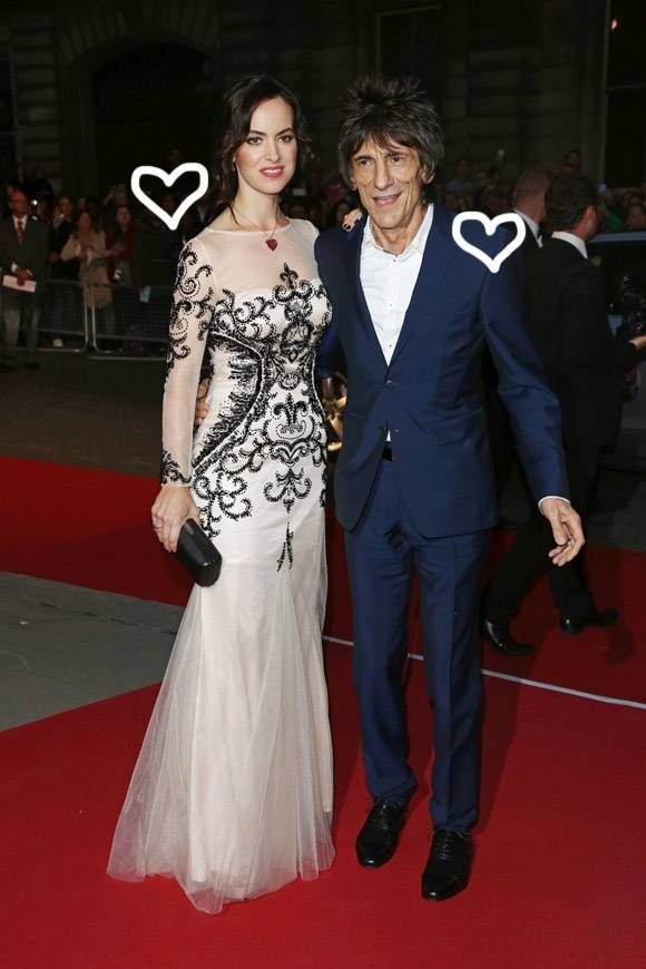 68-Year-Old Rolling Stones Guitarist Ronnie Wood Welcomes Twin Girls With Wife Sally Wood
