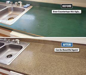 Best 25 Refinish Countertops Ideas On Pinterest Kitchen Counter Decorations Painting Kitchen