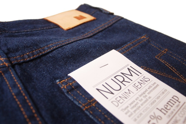 Nurmi jeans // tag with product info