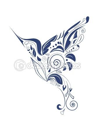 Hummingbird by 578foot - Stock Vector