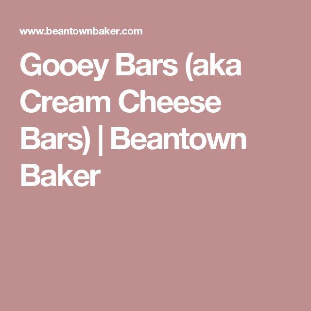 Gooey Bars (aka Cream Cheese Bars) | Beantown Baker