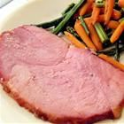 To continue my love affair with my crock pot- Slow Cooker Ham for Easter