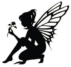 crying fairy silhouettes - Google Search