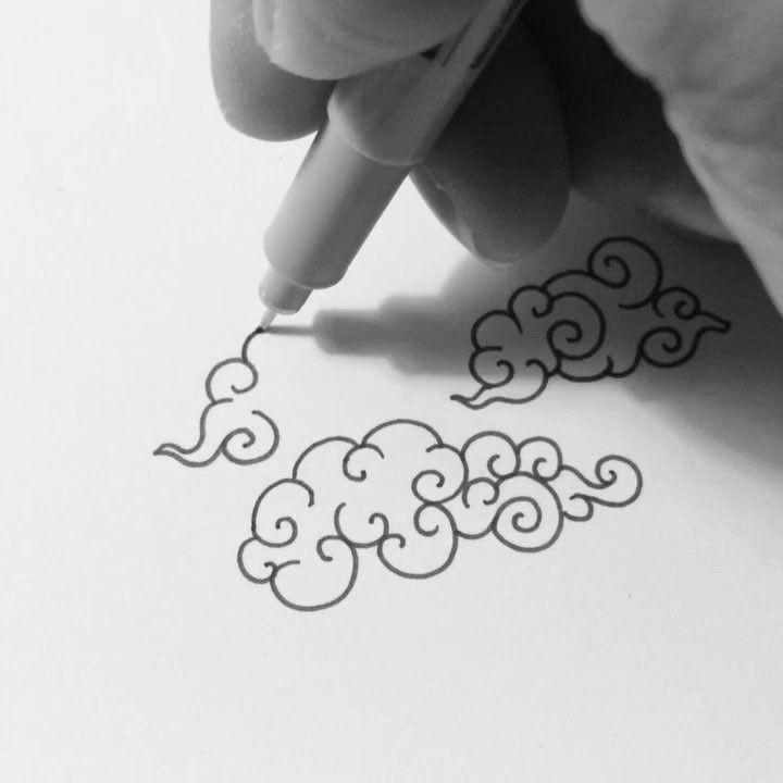 """28.7k Likes, 164 Comments - Visothkakvei (@visothkakvei) on Instagram: """"Clouds #art #visothkakvei"""""""