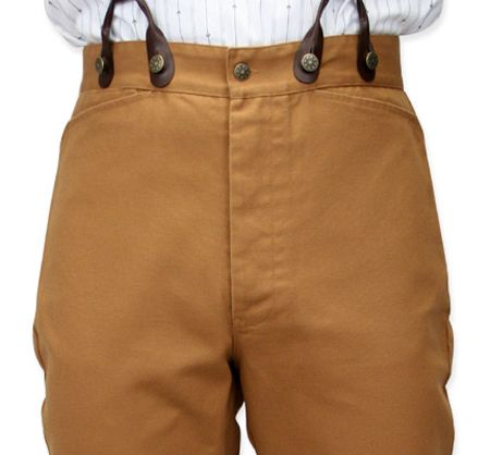 Classic Canvas Trousers - Brown Another nice look for working or casual wear. A bit more Western than my typical style.