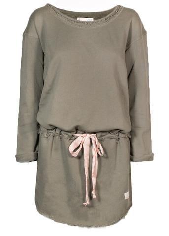 Odd Molly Sweatshirt army 117M-990 Mind Rinse Long Sweater - faded cargo – Acorns