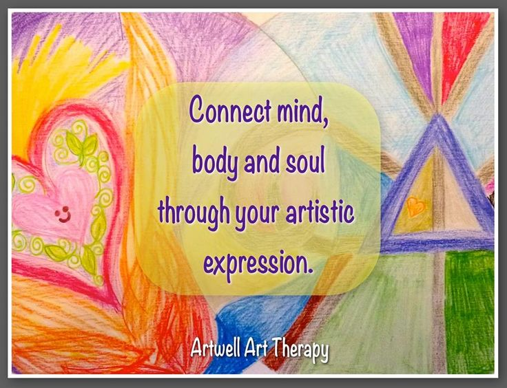 Connect mind, body and soul through artistic expression