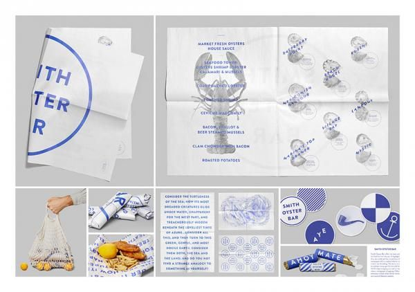 The Design & Branding titled Smith Oyster Bar  was done by Leo Burnett, Toronto advertising agency for brand: Smith Restaurant + Bar in Canada. It was released in the Oct 2013.
