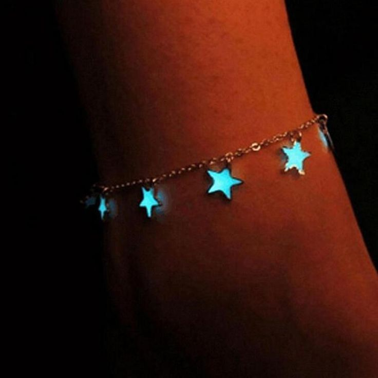 Gorgeous Blue Star Ankle Bracelet