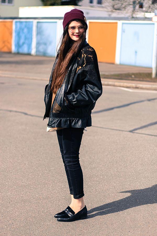 Outfit: Eighties Leather - Jäckle und Hösle