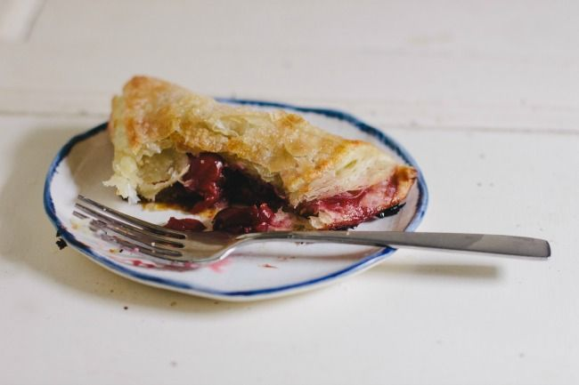 sour cherry turnovers | the vanilla bean blog - something to use up a ...