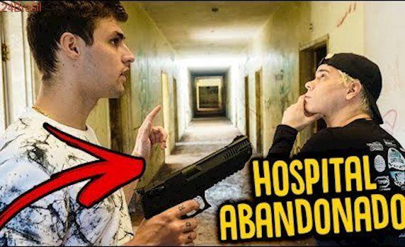 COMO É UM HOSPITAL ABANDONADO !!! (ASSUSTADOR !) [ REZENDE EVIL]