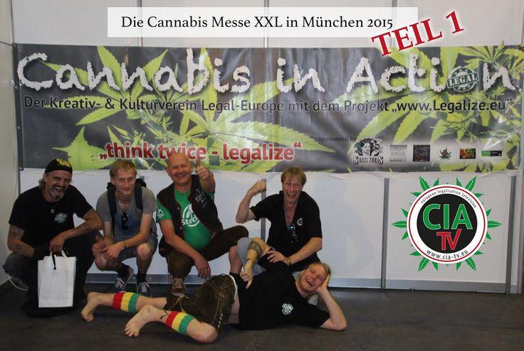 Haschkekse auf der Cannabis XXL Messe? - CIA-TV ermittelt!