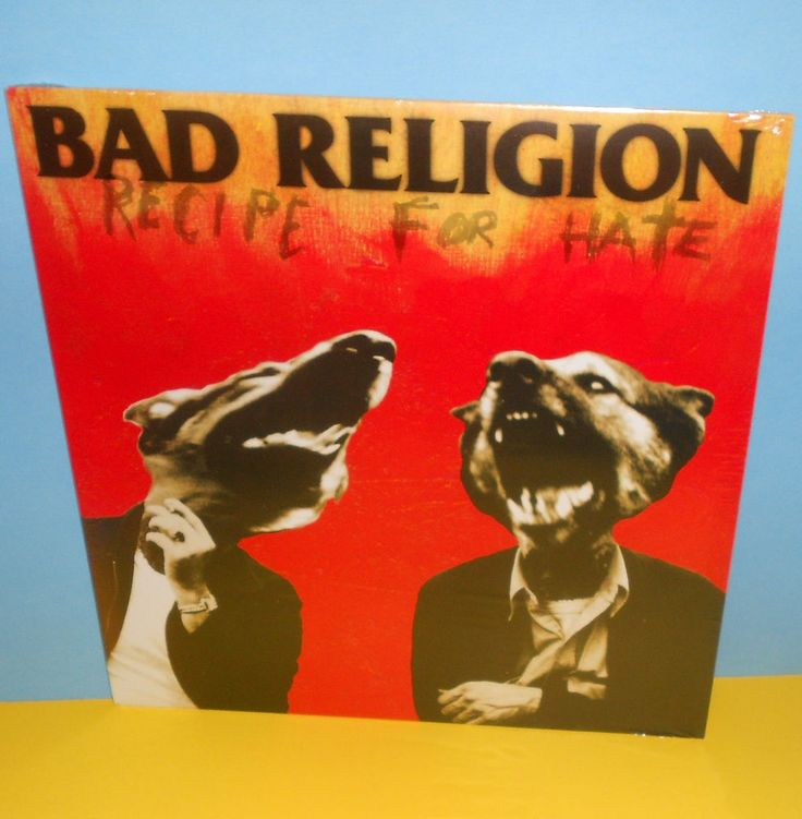 BAD RELIGION recipe for hate LP Record SEALED punk Vinyl epitaph records #PunkNewWave