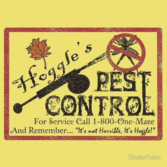 Hoggles Pest Control by SholoRobo  Labyrinth