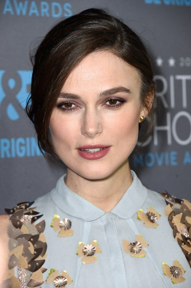 Keira Knightley maquillage yeux