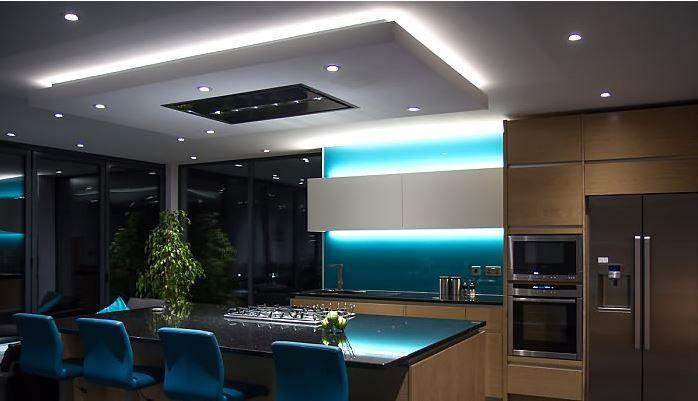 Image Result For Kitchen Mood Lighting Led Strip