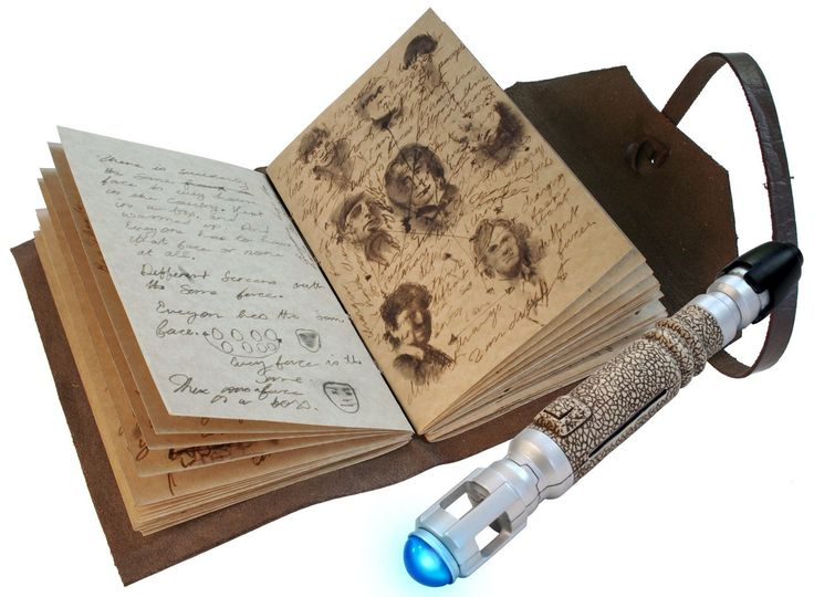 Amazon.com: Doctor Who Journal of Impossible Things and Mini Sonic Screwdriver Pen: Toys & Games