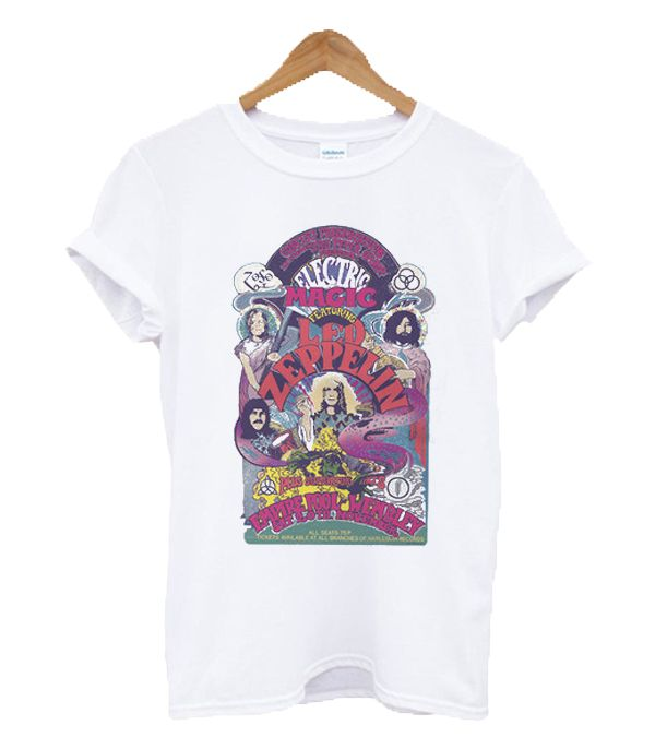 Electric Magic Featuring Led Zeppelin T Shirt Led Zeppelin T Shirt Led Zeppelin Shirt T Shirt