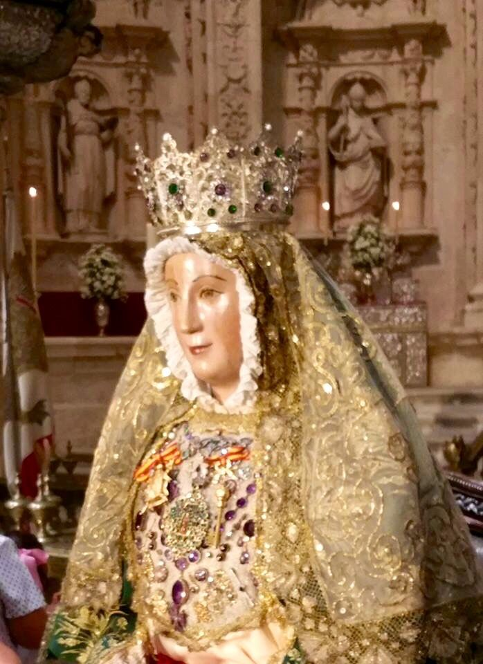 116 best images about arte religioso on pinterest for Mudanzas virgen de los reyes