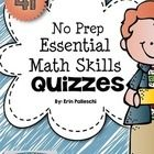 This math pack is full quick 5 minute math quizzes that will give you an immediate picture of where your kids are at.  Use them before you start a ...