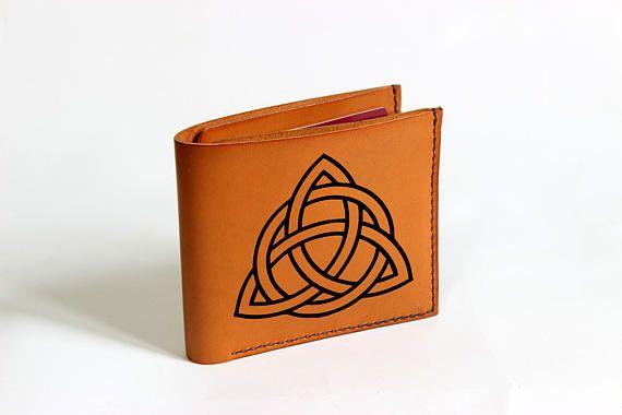 Celtic club wallet custom wallet slim mens wallet fan gift