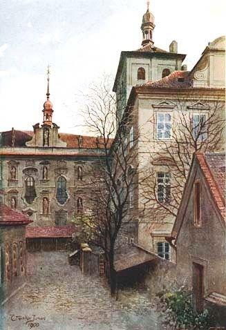 Vaclav Jansa - nadvori konviktu u sv Bartolomeje.