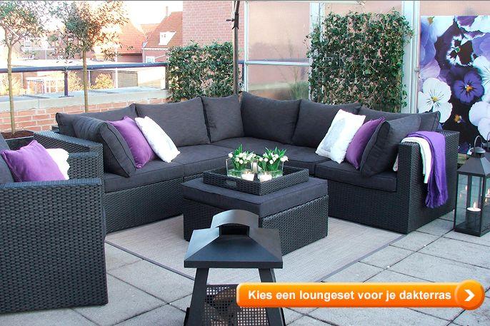 Loungesets voor dakterrras en balkon lees alles op het for Loungeset balkon