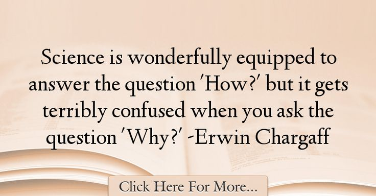Erwin Chargaff Quotes About Science - 61453