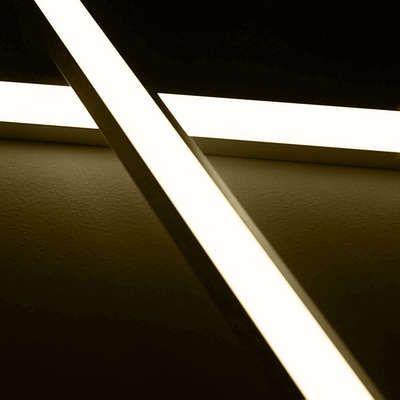 24v Aluminium Led Eckleiste Tageslichtweiss Diffuse Abdeckung Led Aufbauleuchte Einbauleuchten Led Lichtschlauch