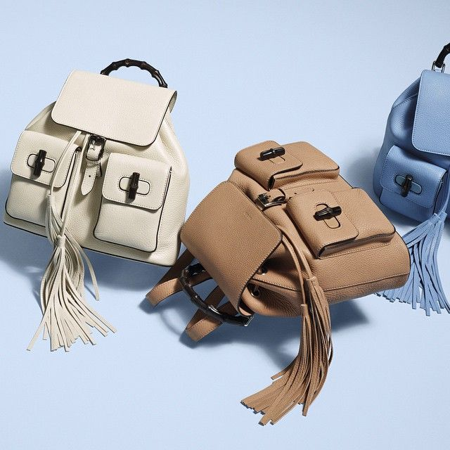 The Bamboo Sac backpack—equal parts beauty and function. #gucciholiday
