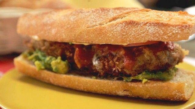 Receta Sandwich de Milanesa de carne