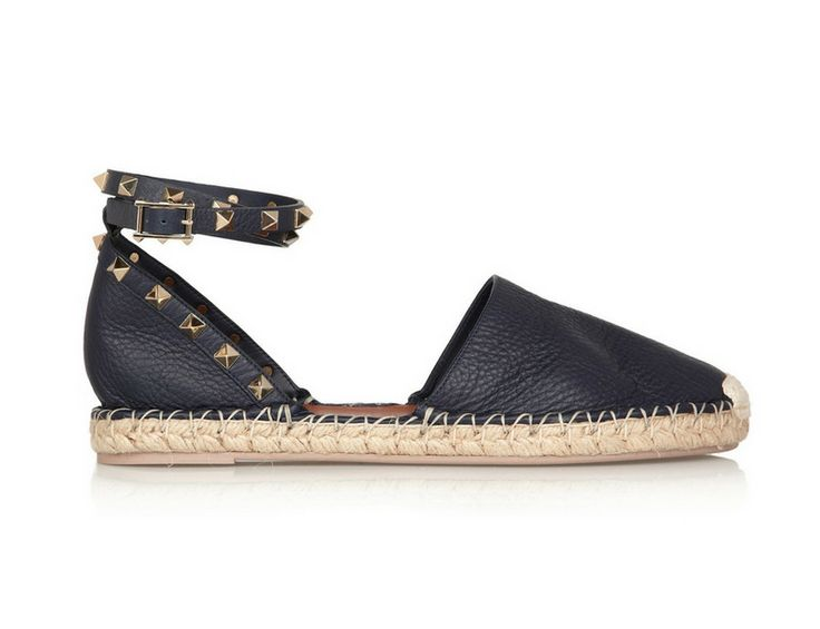 Outlet 100% Guaranteed Buy Cheap With Mastercard Espadrilles navy patterned Valentino Sale Affordable A5s1hu70
