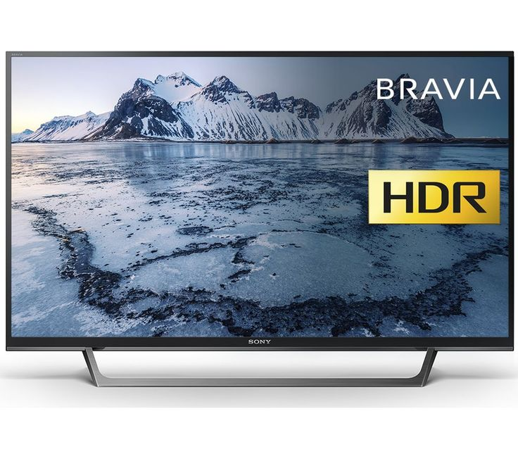 """Buy 40""""  SONY BRAVIA KDL40WE663BU  Smart HDR LED TV Price: £389.00 Top features:- HDR brings rich detail and depth to all your content- Clearer, smoother images with Motionflow XR and X-Reality PRO- Smart TV with web browsing, apps and streaming services to keep you entertained- Record to USB so you don't miss out on anythingHDRThe BRAVIA KDL-40WE663 displays rich detail in the darkest and..."""