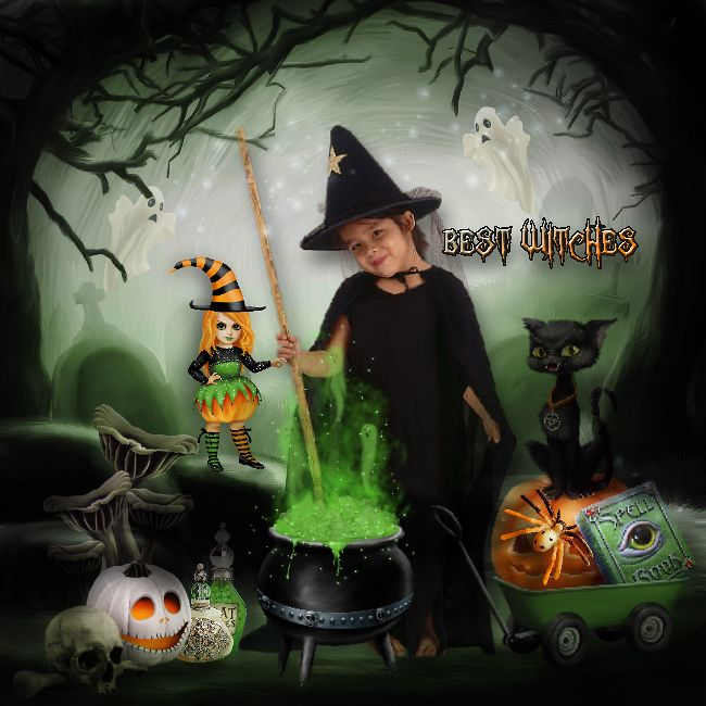 Whoehoeee Spooky Witches NEW instore. Vendu: €7.20 Remise: 50% de moins. Tube from the club. With Pat Scrap <3. ©InadigitalArt2016 http://scrapfromfrance.fr/shop/index.php…