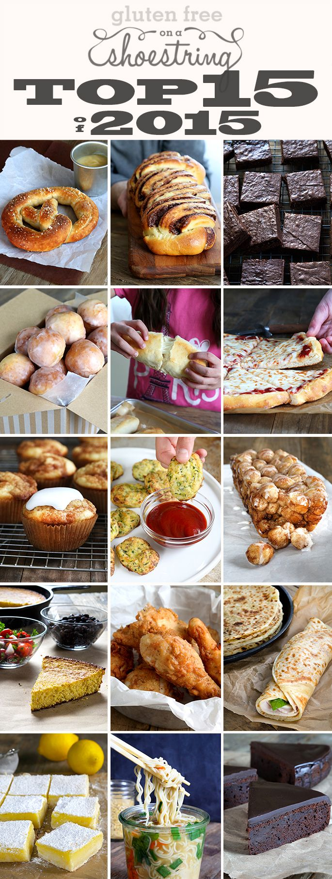 The Very Best Gluten Free Recipes of 2015