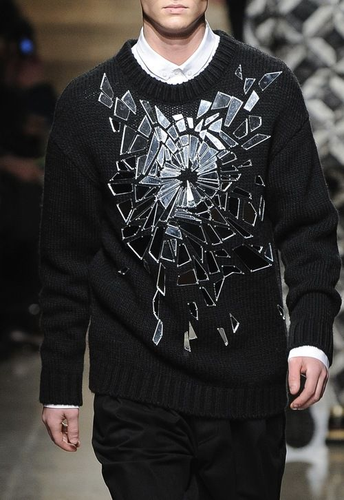 shattered glass / Frankie Morello F/W 2013