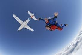 Parachutespringen!