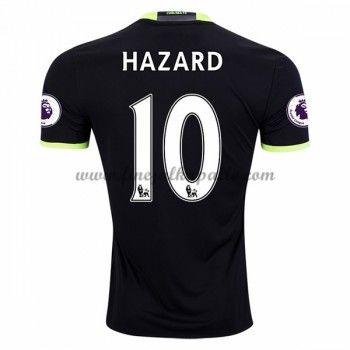 Jalkapallo Pelipaidat Chelsea 2016-17 Hazard 10 Vieraspaita