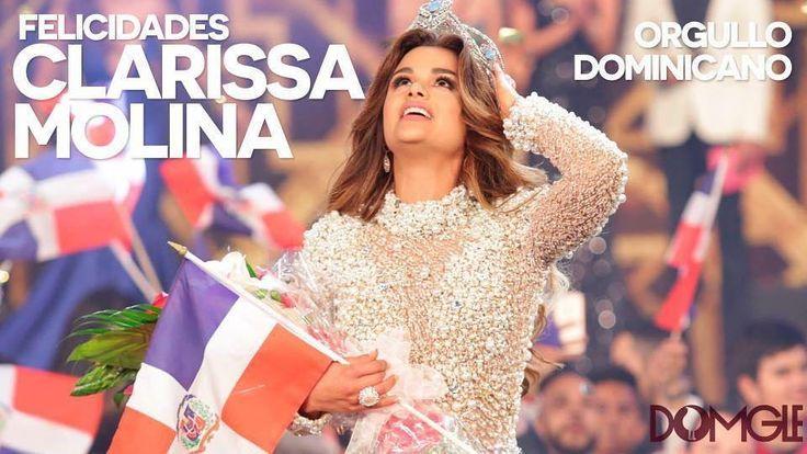Felicidades a Nuestra Belleza Latina VIP @clarissamolinaofficial por su triunfo por ser la nueva reina por haber puesto la bandera dominicana una vez mas en lo alto. #clarisamolina #reinanbl #felicidades #NBLVIP #NBL #orgullodominicano #RD #NYC #newyork #fedoarcuRD