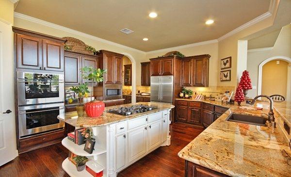 Kitchen from Village Builders in Texas