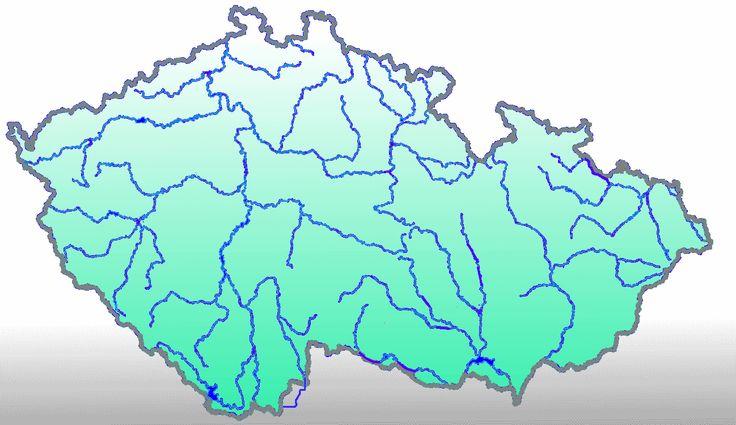 Řeky prameny - klikněte na mapu v místě pramene - vyznačeny jsou jen hlavní řeky. - určete na mapě místo, kde pramení zadaná řeka.