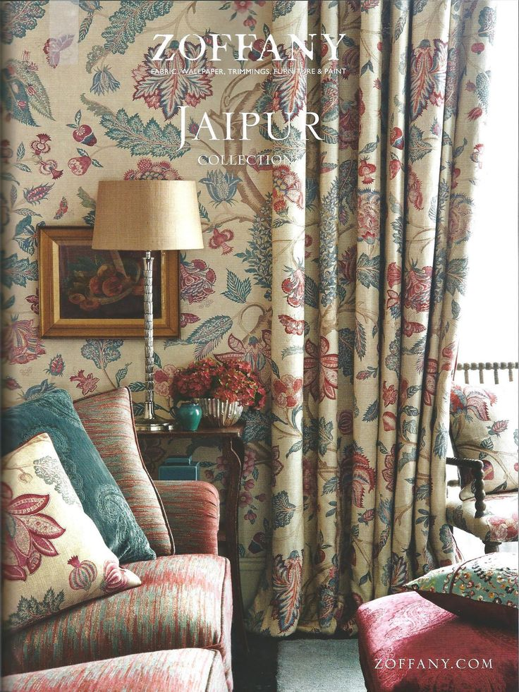 Vaughan's Acanthus Column looks stunning in #Zoffany's beautiful  advertisement in the November issue of House