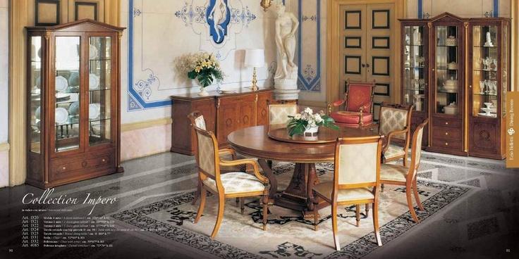 Ručně vyráběný dřevěný italský nábytek Ezio Bellotti Impero, kompletní nabídku této značky naleznete zde: http://www.saloncardinal.com/ezio-bellotti-f14