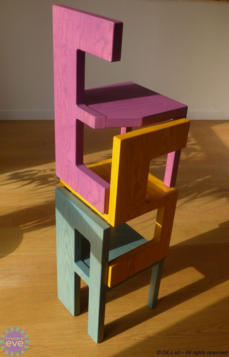 Emma chair in a tower