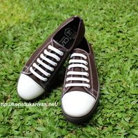 Sepatu Kanvas -Casual Warna Coklat Ciarmy Type SKC-01 brown