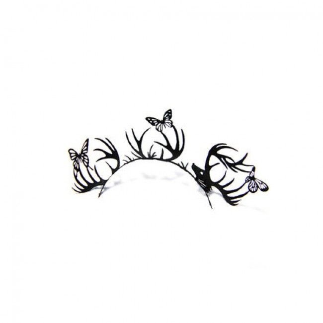 Paper Lashes Paperself - Deer & Butterfly - Wimperwensen.com